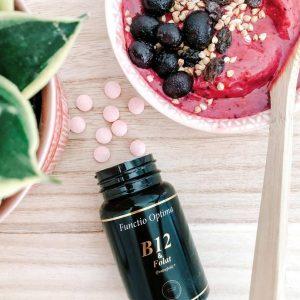 B12 & Folat (Quatrefolic®) 100 sugtabletter