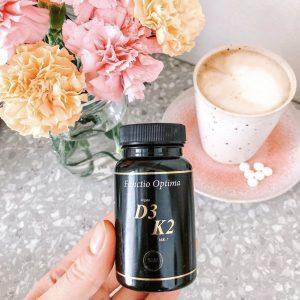 D3 & K2 Vitamin, 90 tabletter